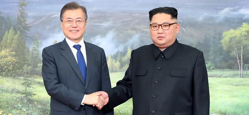 Kuzey ve Güney Kore liderlerinden sürpriz buluşma