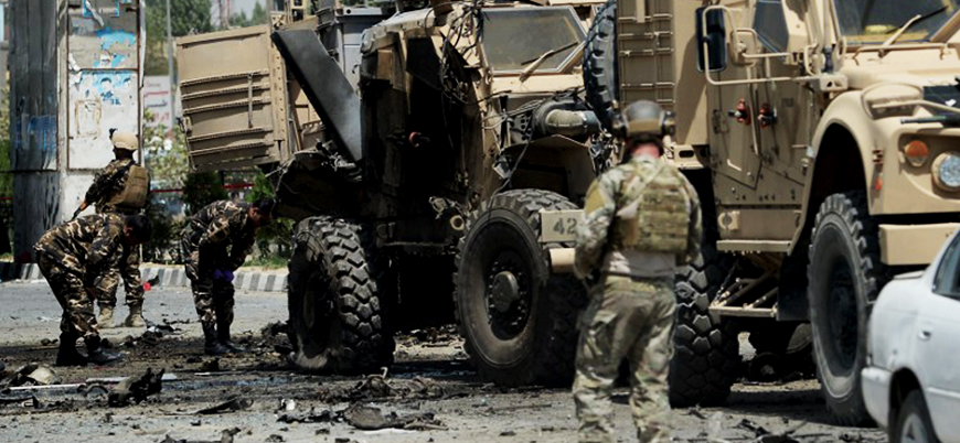 Afganistan'ın Kandahar vilayetinde ABD konvoyuna bombalı saldırı