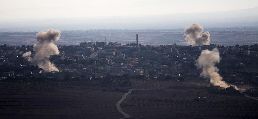 'İsrail Suriye'de Hizbullah mevzilerini vurdu'
