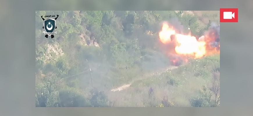 Muhaliflerden rejim güçlerine güdümlü füze saldırısı
