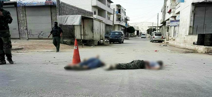 Tahriru'ş Şam iki IŞİD'liyi infaz etti