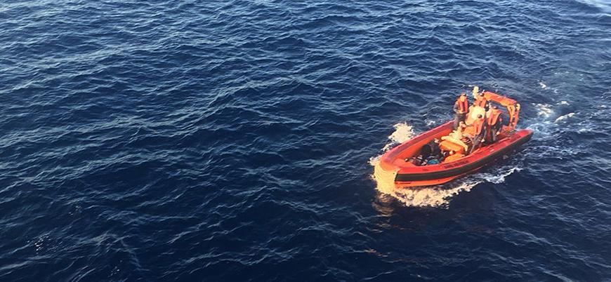 Antalya'da göçmen teknesi battı: 9 ölü