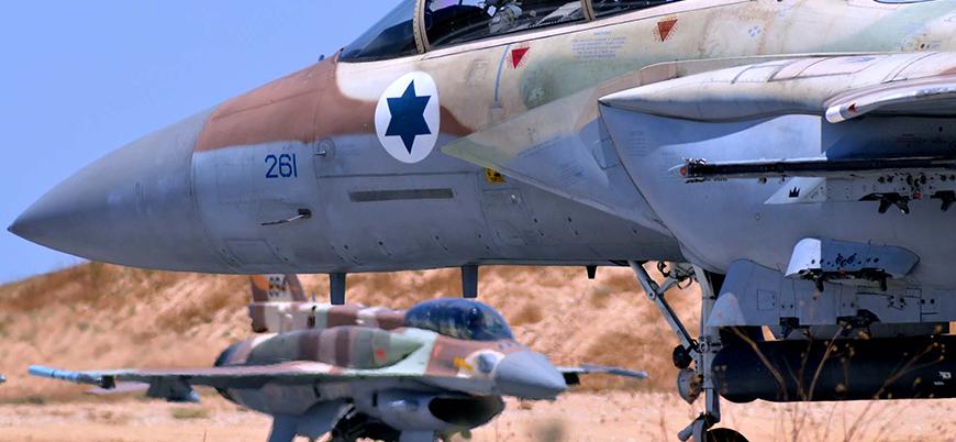 İsrail'den dev askeri tatbikat