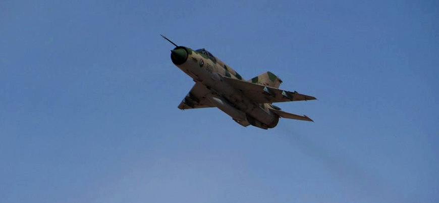 Muhalifler Libya'da Hafter'e bağlı savaş uçağını vurdu