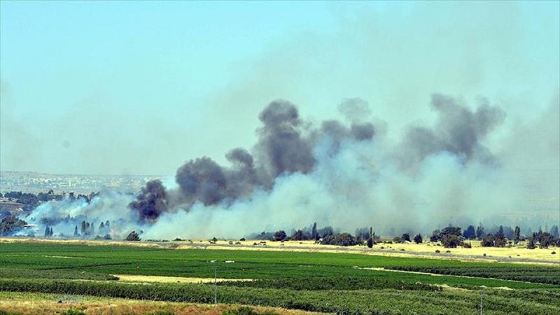 İsrail yönetimi IŞİD hedeflerini vurdu