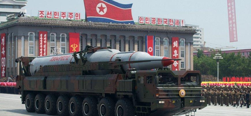Kuzey Kore balistik füze platformunu yıktı