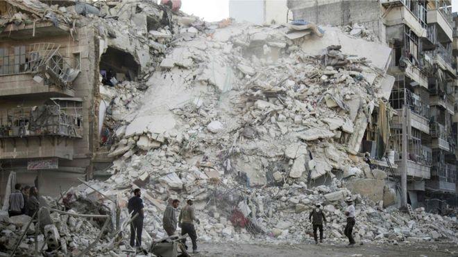 Muhalifler Doğu Halep'in üçte birini kaybetti