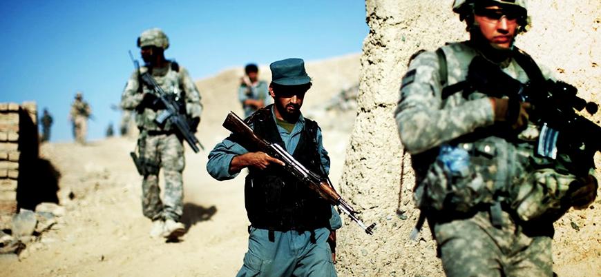 ABD ve Kabil hükümeti güçlerinden IŞİD operasyonu