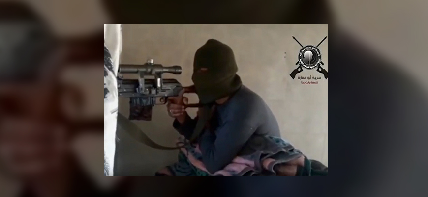 Ebu Amara, rejime karşı düzenlenen saldırıların görüntülerini yayınladı