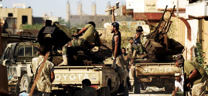 Halife Hafter'in saldırı başlattığı Derne kentinde son durum