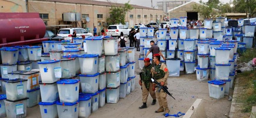 Irak'ta seçim sandıklarının yanmasına 4 tutuklama