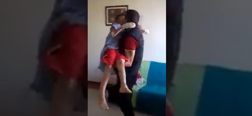 Rusya-Esed ittifakının hava saldırısında gözlerini kaybeden çocuğun feryadı