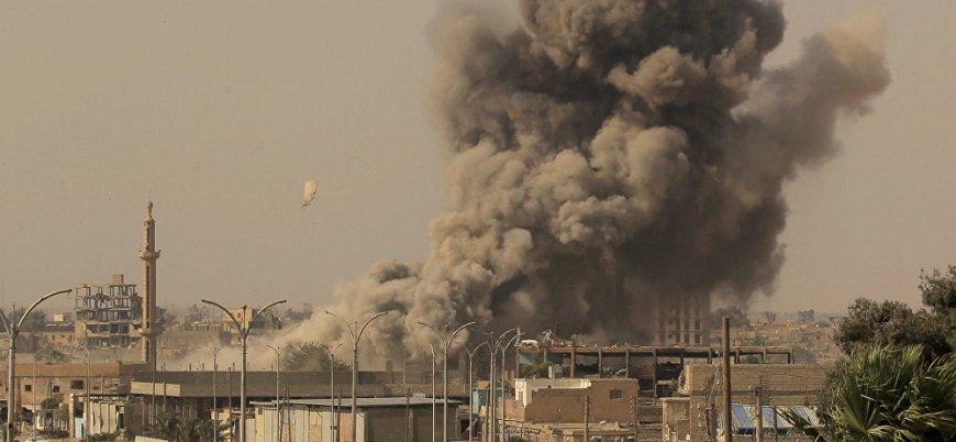 Esed rejiminin en büyük silah deposunda patlamalar
