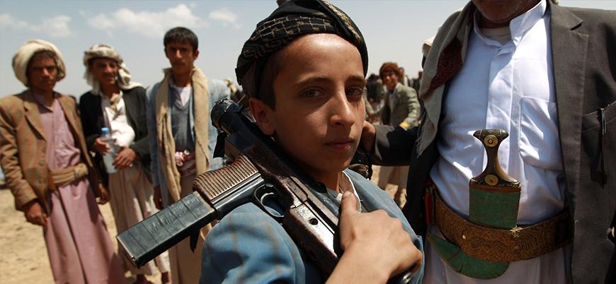 Yemen'de 2 milyon çocuk işçi ve asker