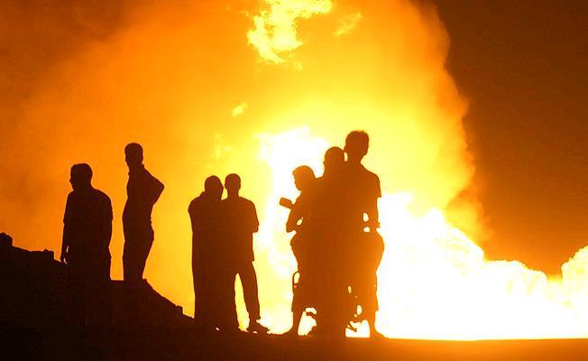 PKK'dan doğalgaz hattına sabotaj girişimi