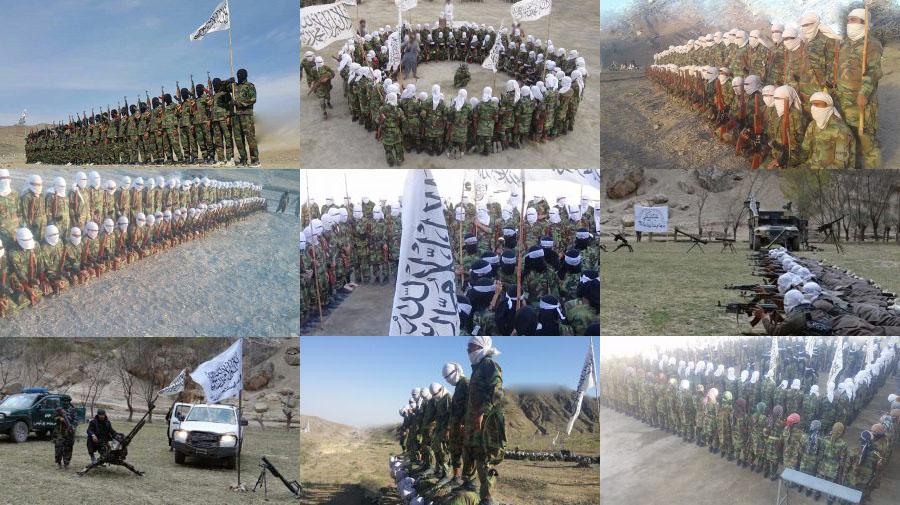 Taliban, iki eğitim kampından görüntüler paylaştı