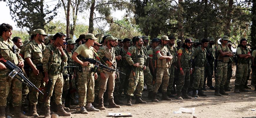 Suriye'de yeni askeri oluşum