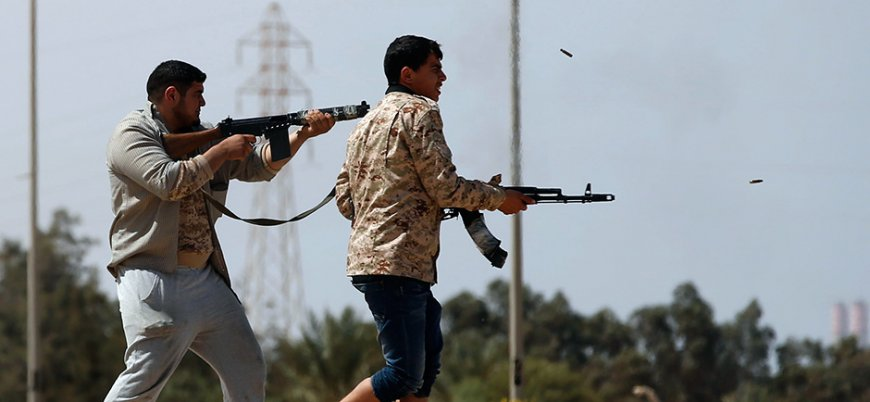 Libya'da çatışmalar yeniden patlak verdi