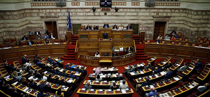 Yunan meclisinde darbe çağrısı