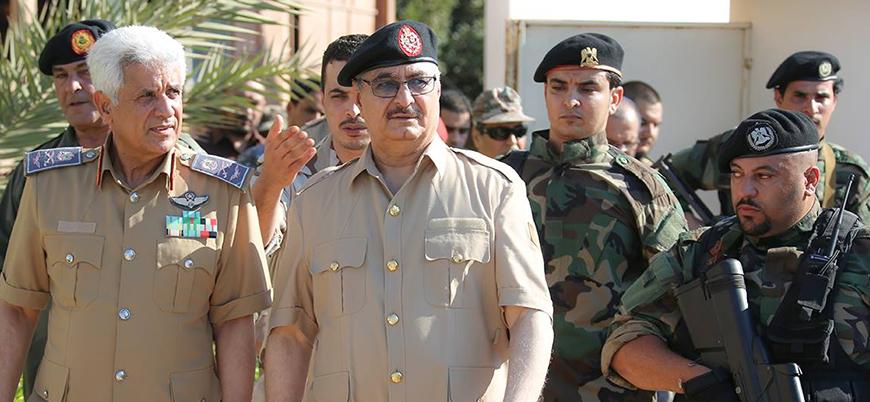 Hafter güçleri Derne'de yargısız infazlara başladı