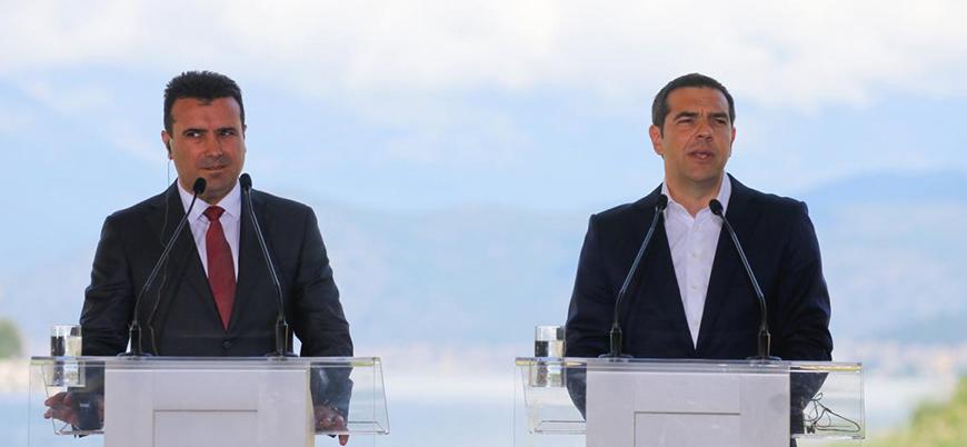 Makedonya-Yunanistan isim sorununda imzalar atıldı