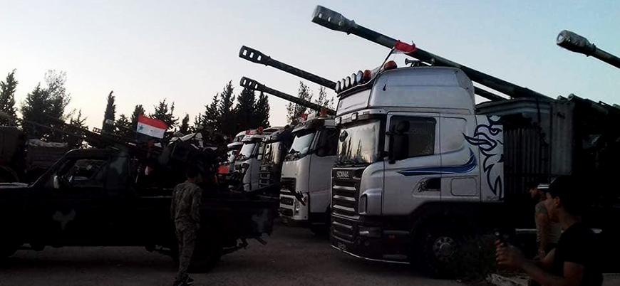 Rusya ve İran destekli rejim koalisyonu Dera saldırısını başlattı