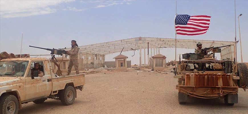 ABD stratejik geçiş bölgesinde Esed güçlerini vurdu