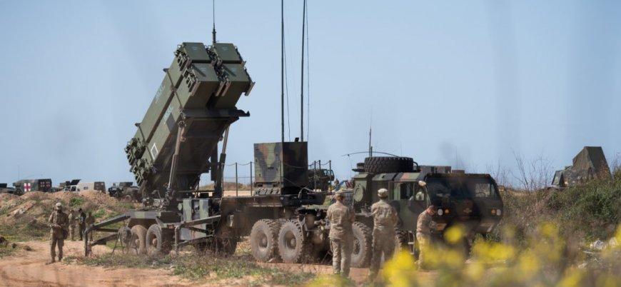 İsrail'den Suriye sınırından yaklaşan İHA'ya 'Patriot'lu müdahale