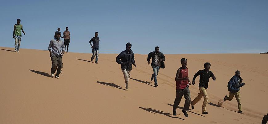 Cezayir 10 binden fazla mülteciyi Sahra Çölü'ne ölüme yolluyor