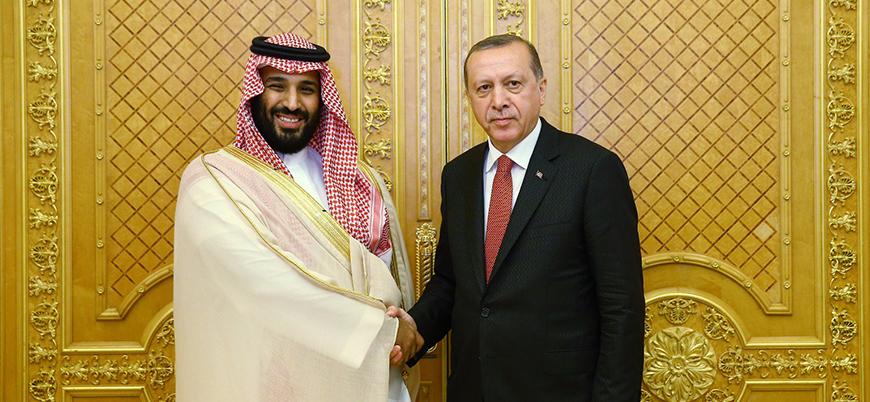 Muhammed bin Selman'dan Erdoğan'a tebrik
