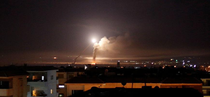 Lazkiye'de rejime 'İsrail ve Fransa saldırısı'