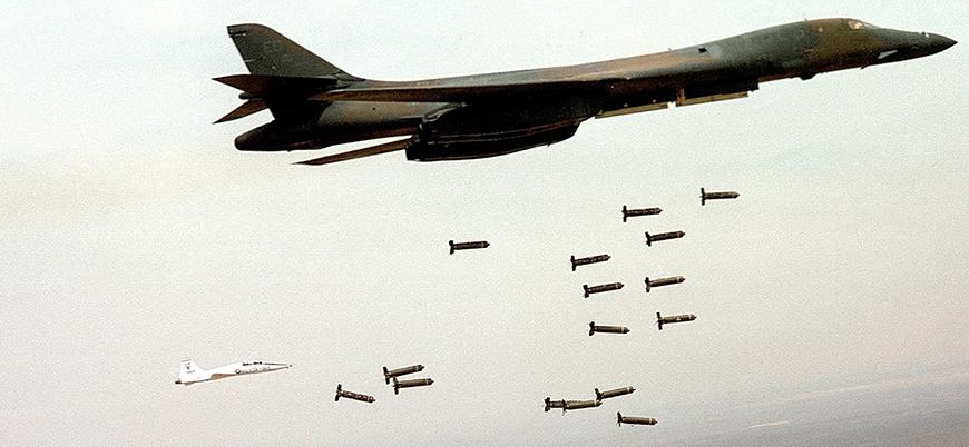 ABD'den Ortadoğu'ya her 12 dakikada 1 bomba
