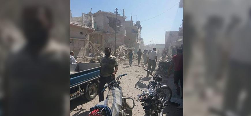 Rus uçakları Dera'da sivilleri vurmaya başladı