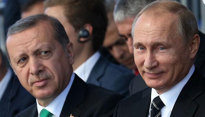 Erdoğan'la Putin arasında üçüncü görüşme