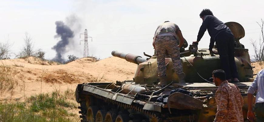 Derne Savunma Güçleri Hafter'i yalanladı: Çatışmalar sürüyor