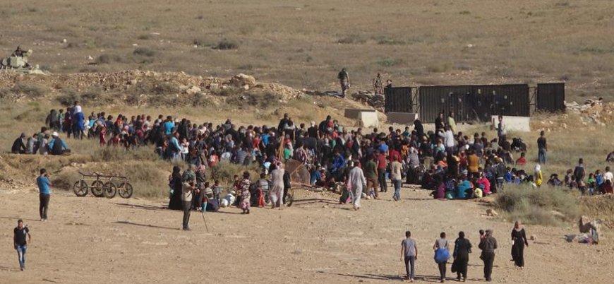 Ürdün, ülkeye almadığı Deralı sivilleri sınırda 'tedavi ediyor'