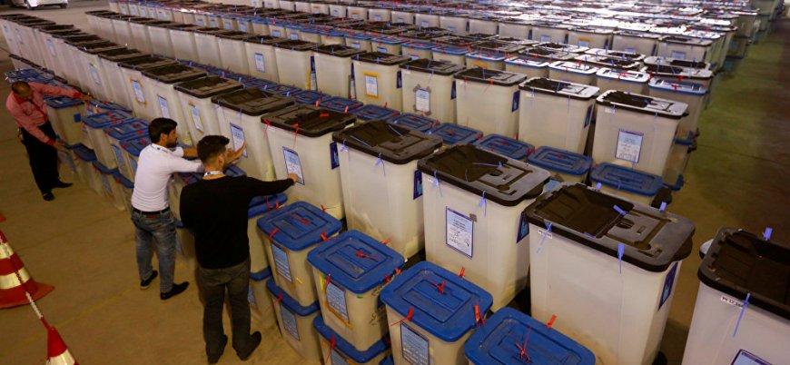 Irak'ta oylar elle sayılacak