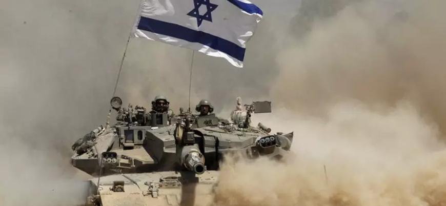 İsrail Suriye sınırına tank yığıyor
