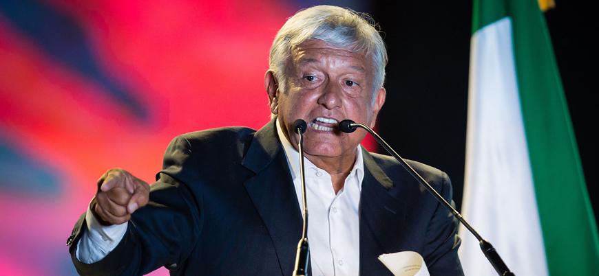 Meksika'nın yeni devlet başkanı Lopez Obrador yemin etti