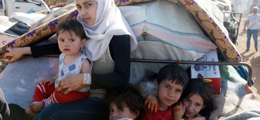 Dera'da Ürdün sınırına sığınanların sayısı 300 bine yaklaştı