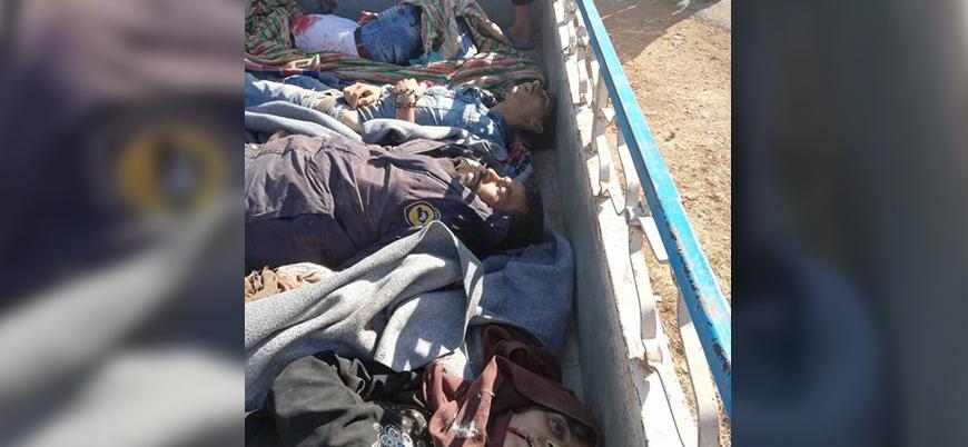 Dera'da Rusya-rejim saldırılarında ölen sivil sayısı açıklandı