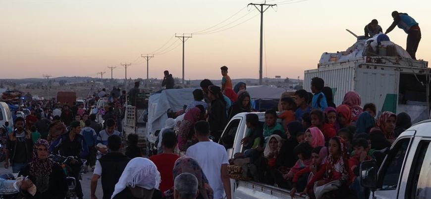 Dera'da sınıra kaçanların sayısı 350 bini buldu