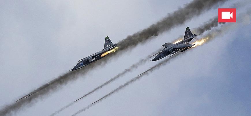 'Rusya-rejim uçaklarından Ürdün sınırları içinde hava saldırısı'