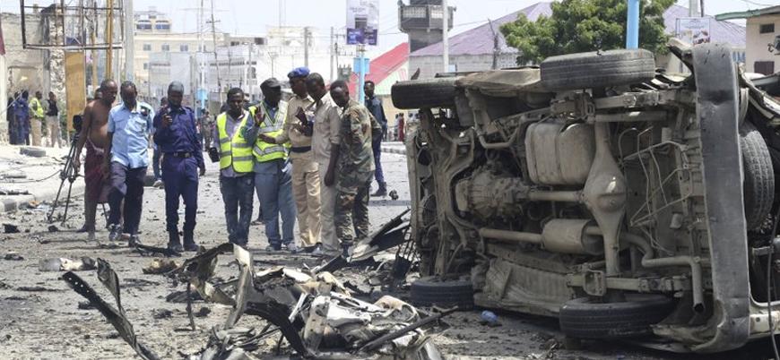 Eş Şebab'dan Mogadişu'da hükümet binasına bombalı araç saldırısı