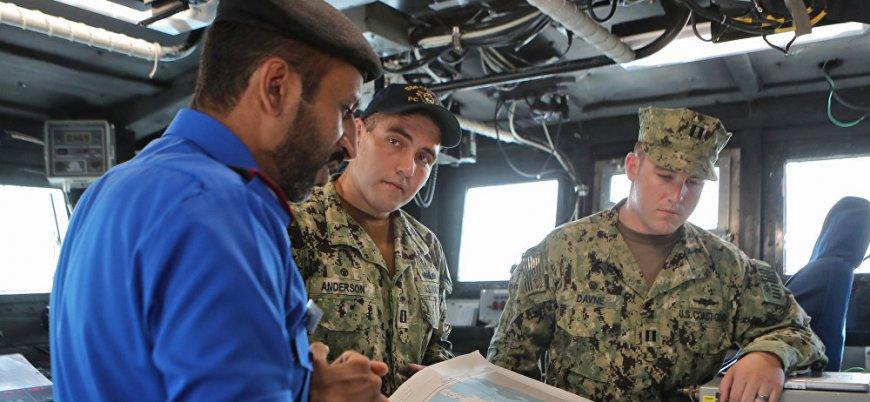 Katar ve ABD'den ortak deniz tatbikatı