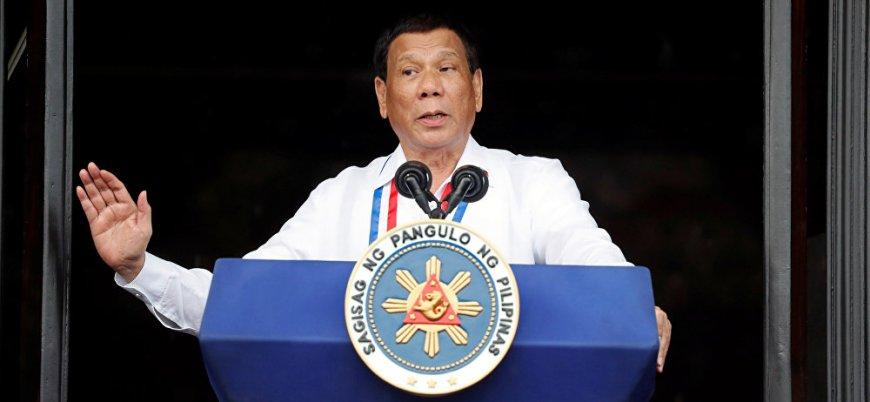 Filipinler Devlet Başkanı Duterte'den muhaliflerine tehdit