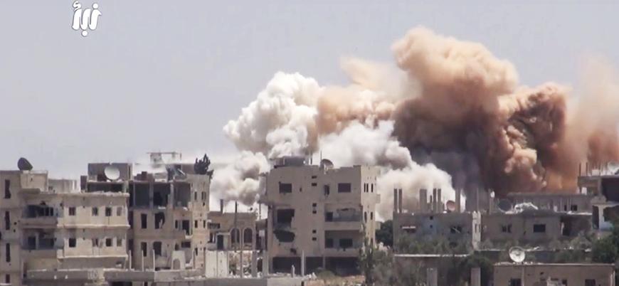 Rusya destekli koalisyon Dera'da 369 kişiyi öldürdü