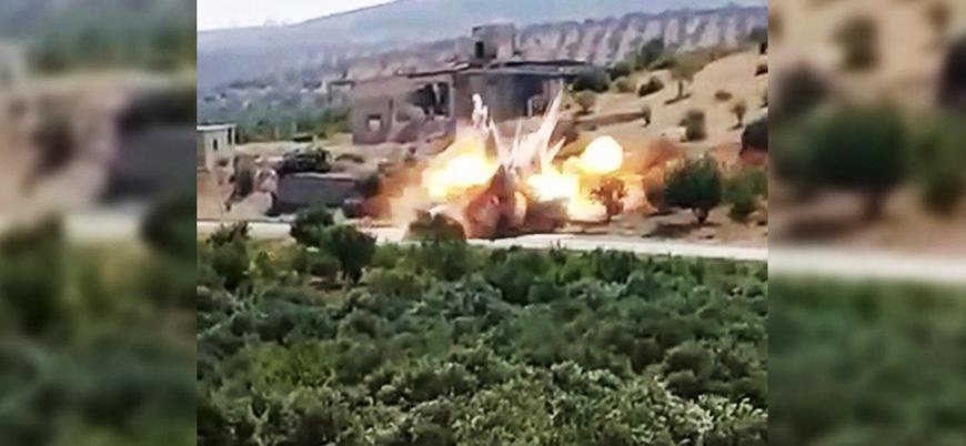 IŞİD, ilk defa İdlib saldırılarının görüntülerini yayınladı