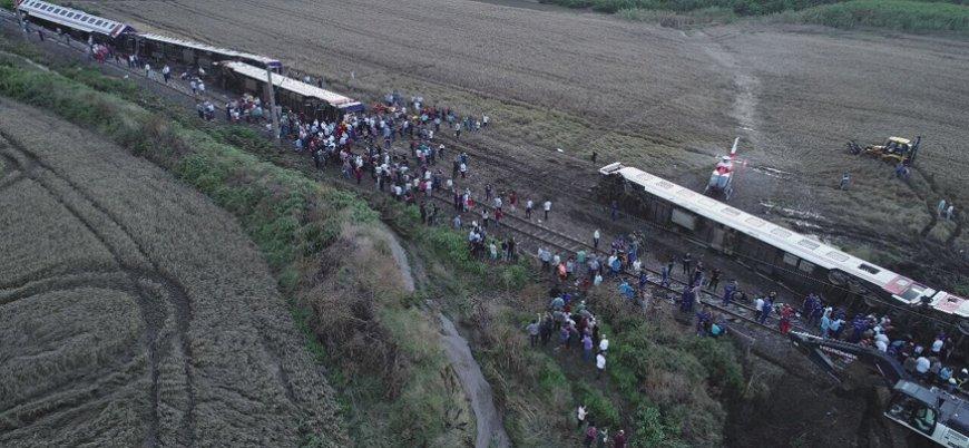 Tekirdağ'da tren kazası: 10 ölü, 73 yaralı