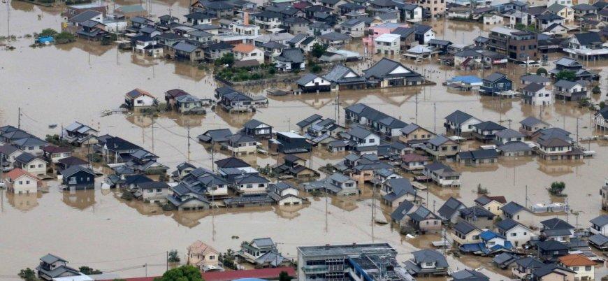 Japonya'daki selde ölü sayısı 100'ü geçti